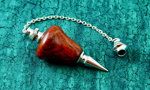 Cocobolo Pendulum with Silver Fittings